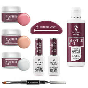 Victoria Vynn Master Nail POLYGEL UV LED Gel Acrylic Builder Base Totally Clear