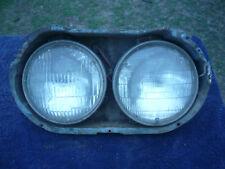 s series valiant headlight bucket and headlights rhs