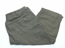 WOMENS green outdoor hiking capri PANTS = COLUMBIA = SIZE 8 = km36