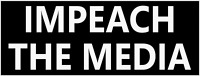 """IMPEACH THE MEDIA"" BUMPER STICKER DECAL REPUBLICAN TRUMP 2020"