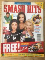 SMASH HITS August 1990 Prince, Bananarama, Wilson Philips, Madonna poster VGC