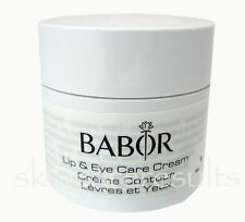Babor Lip & Eye Care Cream Pro 15ml No Box dry lips and tired eyes $80