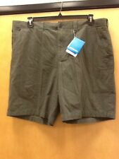Men's Columbia Washed Out II Novelty Shorts, Olive Green, size 40