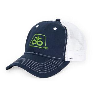 PIONEER SEED *NAVY BLUE & WHITE MESH* Trademark Logo CAP HAT *BRAND NEW* PS01