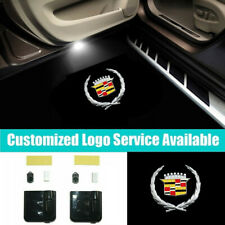 2x Cadillac Logo Car Door Welcome Lights for CTS SRX STS ATS XLR SLS CT6 PAIR