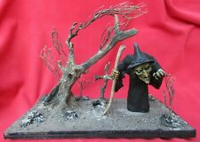 Mexico City Outside Art HOOS Hunchback Witch In Withered Forest Scene