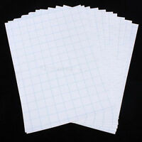 10 Sheets A4 Iron On Inkjet Print Heat Transfer Paper For Fabric T-Shirt