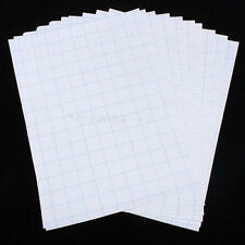 10X/Set A4 T-Shirt Print Iron-On Heat Transfer Paper Sheets For Dark/Light Cloth