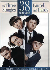 38 Features: The Three Stooges and Laurel  Hardy DVD 2-Disc Set Flying Deuces