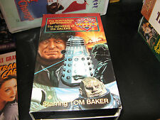 Doctor Who-The Sontaran Experiment/Genesis of the Daleks-2 vhs-Tom Baker