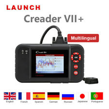 Launch X431 Creader VII+ PKW Scangerät Deutsch OBDIICode Reader Scanner Tool KFZ
