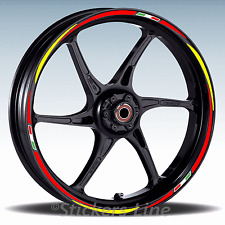 Adesivi ruote moto strisce cerchi per SUZUKI GSX-R 750 GSXR750 Racing 3 wheel