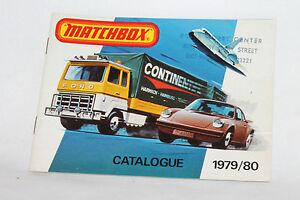 Matchbox Superfast 1979/80 Collector's Catalog, Excellent, Complete & Original