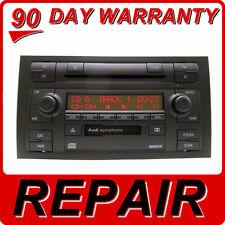 REPAIR YOUR 02 03 04 05 06 07 08 AUDI OEM SYMPHONY I II Radio Tape 6 CD Changer