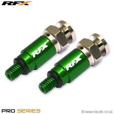 RFX Fork Bleeders GREEN YAMAHA YZ YZF WR WRF YZ125 YZ250 YZ85 WR125 WR250 WRF250