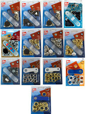 Prym 40 Eyelets With Washers and Tool 5mm Gold 542411