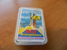 VINTAGE ACE TOP TRUMPS CARD GAME- SPACE ROCKETS.