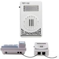 Telephone Phone Amplifier Strobe Light Flasher Bell Extra-Loud Ringer Sound