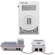 Telephone Ringer Extra-Loud Strobe Light Flasher Bell Ringer Ringtones Amplifier