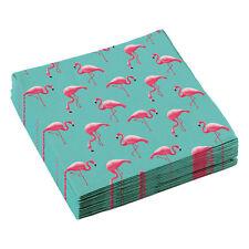 20 Flamingo Party Servietten 33 x 33 cm Amscan Tisch Deko Dekoration Motiv