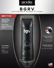 Andis BGRV Variable 5 Speed Professional Black Hair Clipper # 63100 NEW