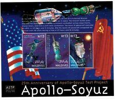 MODERN GEMS - Maldives - Apollo - Soyuz - Sheet Of 3 - MNH