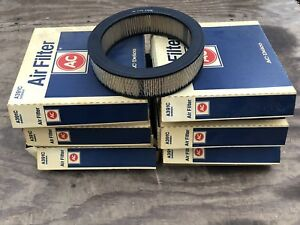 (6 Pack) NOS AC Delco A391C Air Filters