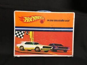 1967 Hot Wheels Flat 24 Slot Collectors Case