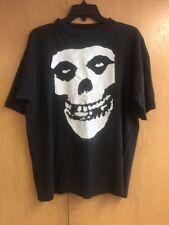 Vintage Misfits 1997 Soul'S Ablaze Men'S Size Xl Black Tshirt Top Concert Shirt