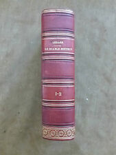 LESAGE. LE DIABLE BOITEUX. DAUTHEREAU.1827. en 2 tomes. veau rouge orné