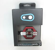 NEW Crank Brothers Candy 3 Pedals  - Red - $135 Retail