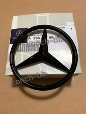 Mercedes-Benz GLC SUV W253 Rear Boot Star Badge Emblem - Gloss Black A2538170016