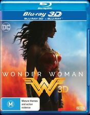 Wonder Woman 3D Blu-ray ONLY, NO 2D (2017) Req 3D TV etc NEW NOT SEALED IN STOCK