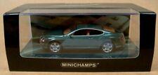 MINICHAMPS '03 BENTLEY CONTINENTAL GT 1/43 SCALE, REF:436139024 - MET GREEN