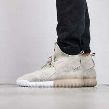 NEW Rare Adidas Tubular X PK Primeknit Shoes BB2381 Sesame - Men's Sz 5