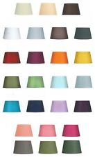 Clip On 6in Wall Light Lamp Shade Cotton Drum Chandelier Lampshade 25 Colours