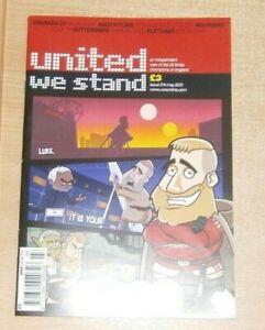 United we Stand magazine #314 2021 Manchester United fanzine GranadaFC Mourinho