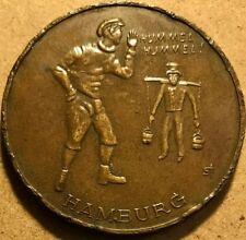 """German Medal - """"Hummel, Hummel"""" - Hamburg - 40mm - Copper - TC-494594"""