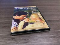 ROMEO Y JULIETA DVD LAURENCE HARVEY SUSAN SHENTALL FLORA ROBSO SEALED PRECINTADA