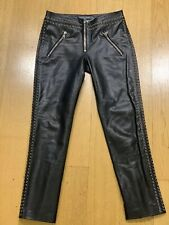 Alexander Mcqueen Rare Leather Pants