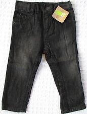 NEW Crazy 8 Baby Toddler Boys 12-18 mos Rocker Black Cotton Jeans