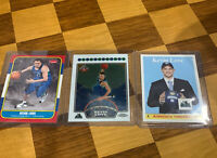 07-08 Topps Chrome Fleer RC LOT KEVIN LOVE ROOKIE TIMBERWOLVES CAVS