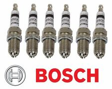Set of 6 For BMW E34 E36 E39 E46 318i 330xi Spark Plug 4417 Bosch Platinum+4