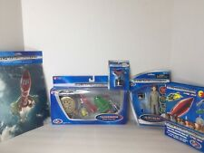 Thunderbirds Rescue Vehicle Set Action Figure Lot Official Movie Merchandise NEW