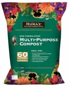 Humax Multi-Purpose Compost Peat Reduced 60lt
