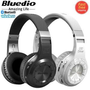 Bluedio Turbine Hurricane HT Bluetooth 5.0 Wireless Stereo Headphones Headset UK