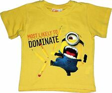Despicable Me Minions Most likey To Dominate Short Sleeve T Shirt By BestTrend