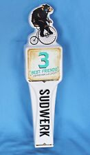 Ceramic Sudwerk 3 Best Friends Coffee Vanilla Lager tap handle beer bar Davis