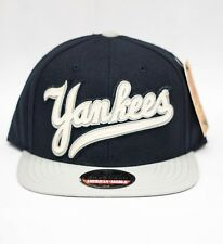American Needle New York Yankees Navy Blue  Script Snapback