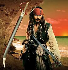 Pirates of the Caribbean Captain Captain Jack Sparrow Cutlass Bow Gaurd Sword